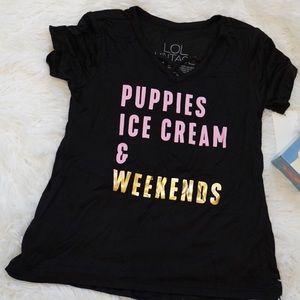 🍦🐶Puppies & Ice Cream T-shirt🐶🍦